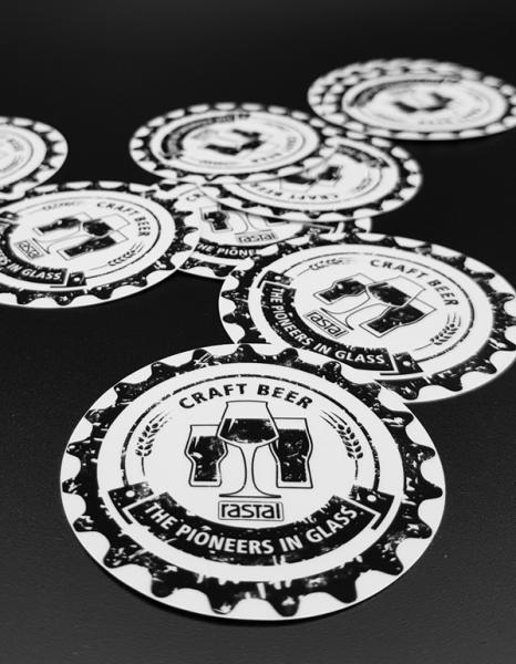 Rastal Merchandise Sticker 10er Set – V1