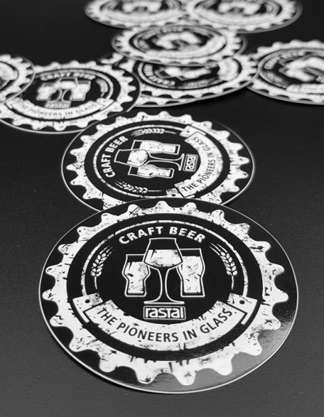 Rastal Merchandise Sticker 10er Set – V2